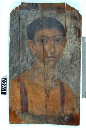 A Woman, Hawara, AD 100-120 (London, Petrie Museum, UC 19607)