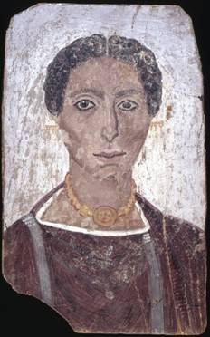 A Woman, er Rubayat, AD 190-210 (London, British Museum, EA 65344)