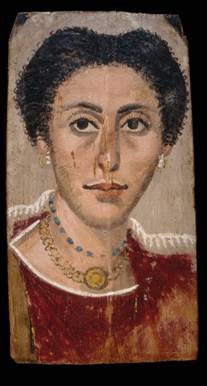 A Woman, er Rubayat, AD 190-210 (London, British Museum, EA 65343)