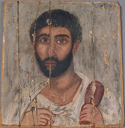 A Man, AD 180-200 ( Malibu, CA, J. Paul Getty Museum, 74.AP.20)