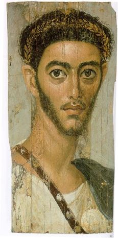 A Young Man, er Rubayat, AD 110-130 (Berlin, Neues Museum, 31161.2)