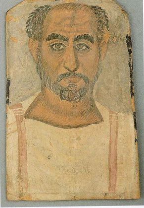 An Older Man, er Rubayat, AD 250-300 (London, Freud Museum, 4946)