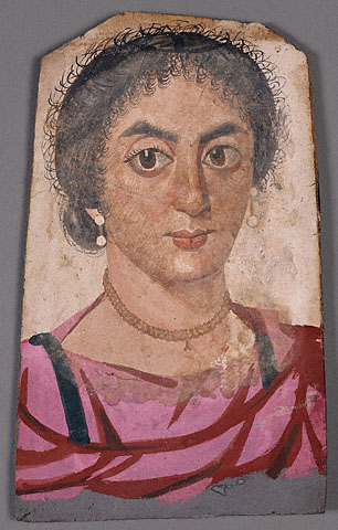 A Woman, er Rubayat, AD 350-375 (Malibu, CA, J. Paul Getty Museum, 81.AP.29)